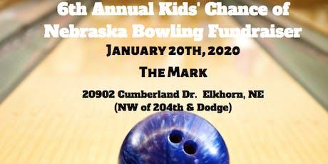 6th Annual Bowling Fundraiser tickets