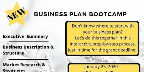 Business Plan Bootcamp tickets