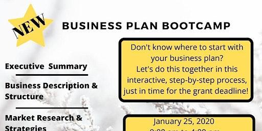 Business Plan Bootcamp