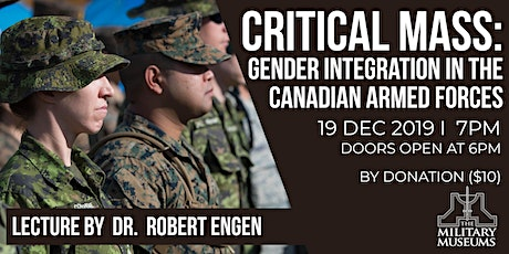 Critical Mass: Gender Integration in the Canadian Armed Forces tickets