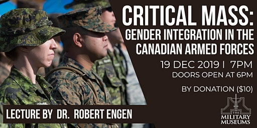 Critical Mass: Gender Integration in the Canadian Armed Forces