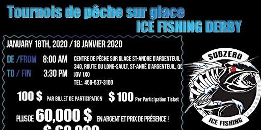 Tournois de pêche sur glace 2020 - Subzero