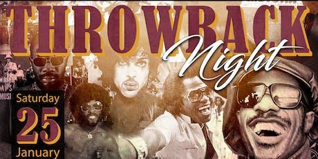 Throwback Night  tickets