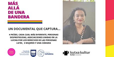 """DOCUMENTAL LGTB, """"MÁS ALLÁ DE UNA BANDERA"""". entradas"""
