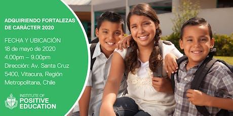 ADQUIRIENDO FORTALEZAS DE CARÁCTER 2020, Chile entradas