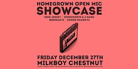 HomeGrown Open Mic Showcase tickets