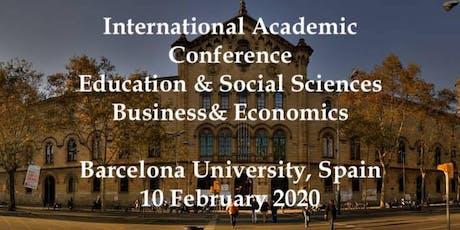 International Academic Conferences Barcelona, Spain February 10,  2020 tickets