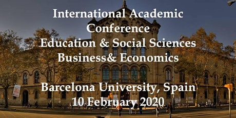 International Academic Conferences Barcelona, Spain February 10,  2020 tickets