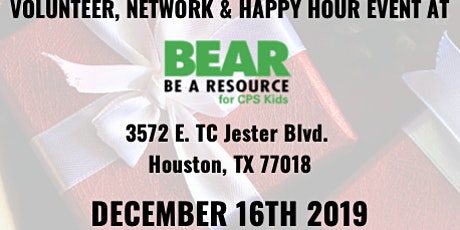 BEAR: Be a Resource Happy Hour/Wrapping Event 12/16 | 4:30-7PM tickets
