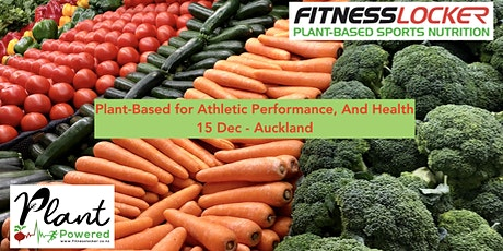 Plant-Based for Athletic Performance, and Health tickets