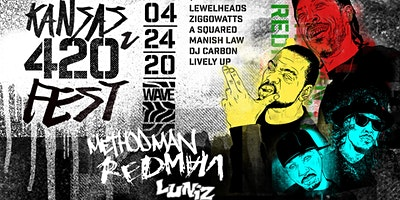 Method Man & Redman, Luniz, Ziggowatts, DJ Carbon, Lively Up,  & more!