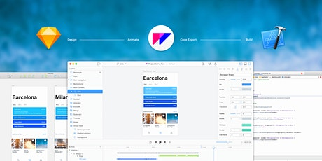 UI Animation Bootcamp with Sketch and Flow tickets