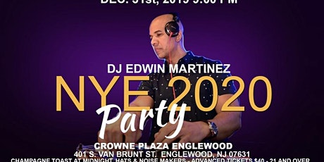 New Year's Eve Party at Crowne Plaza Englewood tickets