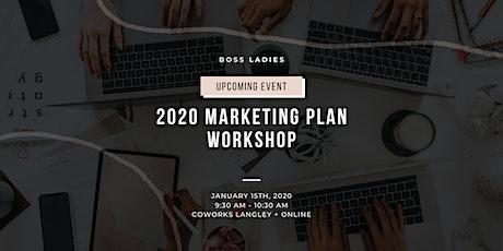 2020 Marketing Plan Workshop tickets