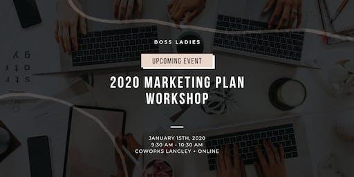2020 Marketing Plan Workshop