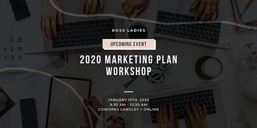 2020 Marketing Plan Workshop