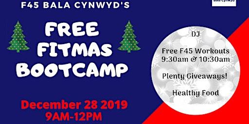 F45 Bala Cynwyd's FREE FITMAS BOOTCAMP