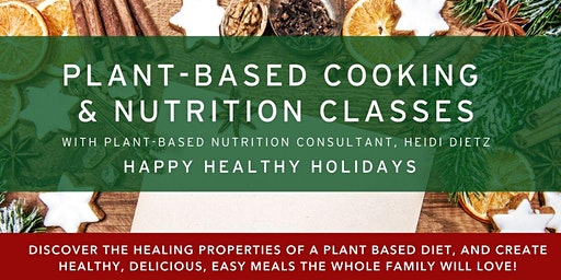 Plant-Based Cooking & Nutrition Classes