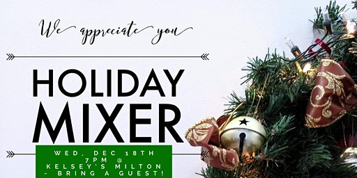 Holiday Appreciation Mixer