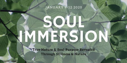 Soul Immersion Retreat