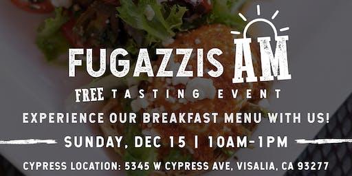 Breakfast @ Fugazzis Tasting Event