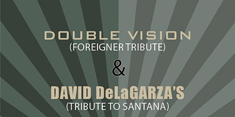 DOUBLE VISION - TRIBUTE TO FOREIGNER tickets