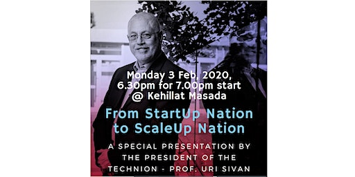 From Startup Nation to Scale-up Nation