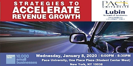 Strategies to Accelerate Revenue Growth @ Pace University tickets