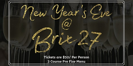 New Year's Eve at Brix 27 tickets