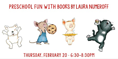 Preschool Fun with Books by Laura Numeroff tickets