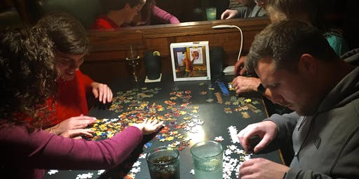 Puzzle Night! 'Tis the Season... For Puzzling!