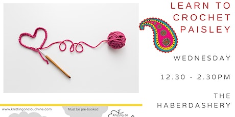 Learn to Crochet in Paisley tickets