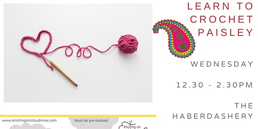 Learn to Crochet in Paisley