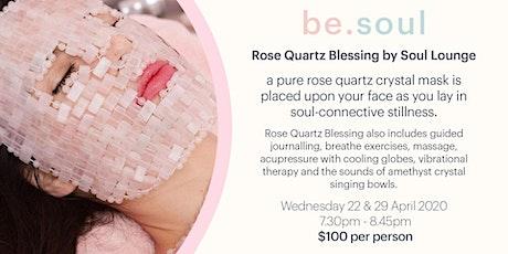 Be.Soul : Rose Quartz Blessing tickets