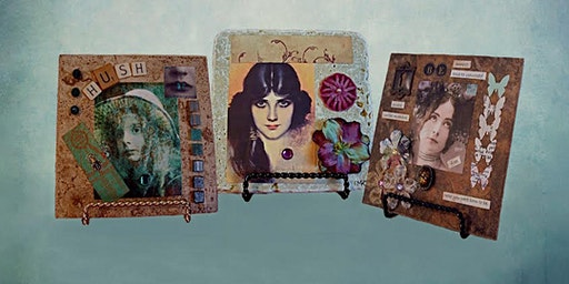 CRAFTING: Multimedia Art Tile Collages with Maureen Tillman
