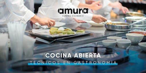 COCINA ABIERTA - Técnicos en Gastronomía Amura