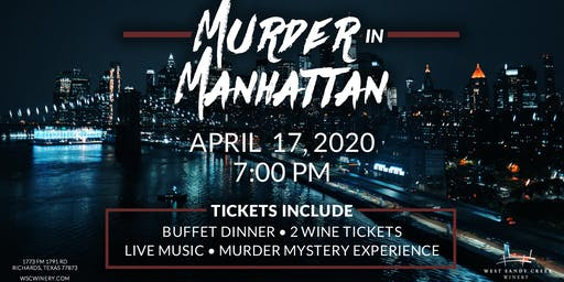 Murder Mystery Dinner -- Murder in Manhattan