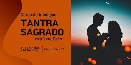 Curso de Iniciação ao Tantra Sagrado com Ronald Fuchs ingressos