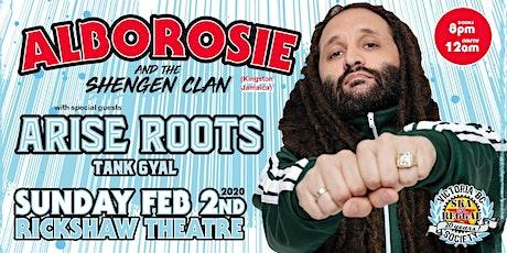 Alborosie & The Shengen Clan with Arise Roots, Tank Gyal tickets