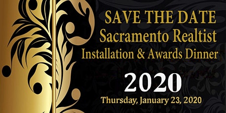 Save the Date - 2020 Installation & Awards Dinner tickets