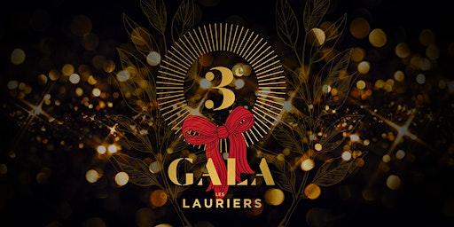 Gala des Lauriers /// 3e édition   * Tarif SPÉCIAL DES FÊTES *