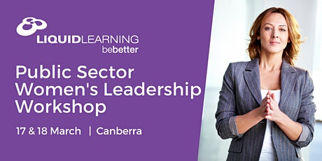 Public Sector Women's Leadership Workshop tickets