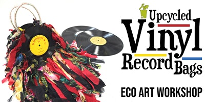 Upycled Vinyl Record Bag | Eco Art Workshop