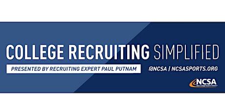 College Sports Recruiting 101 Presented by Recruiting Expert Paul Putnam tickets