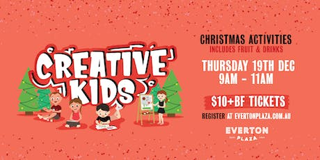 Creative Kids - Christmas Activity tickets