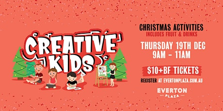 Creative Kids - Christmas Activity tickets