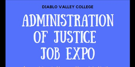 Administration of Justice Job Expo tickets