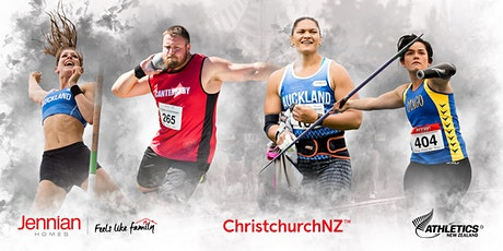 Jennian Homes New Zealand Track & Field Championships 2020 tickets