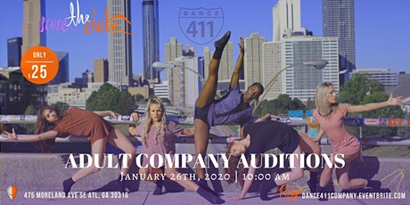 Dance 411 Adult Performance Company Auditions for 2020 Season tickets