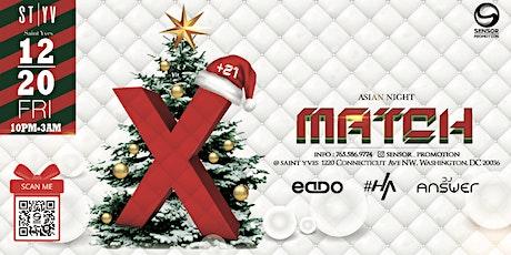 12/20 [X-Match] Sensor Party @Saint Yves tickets